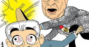 كاريكاتور: مصر تعاقب المطبّعين