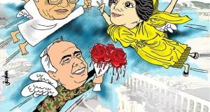 كاريكاتور: انتصار تدمر انتصار لرجل الآثار ورجل الميدان