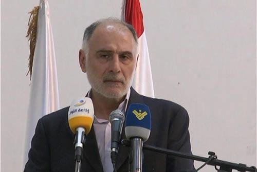 وزير الدولة لشؤون مجلس النواب الحاج محمد فنيش