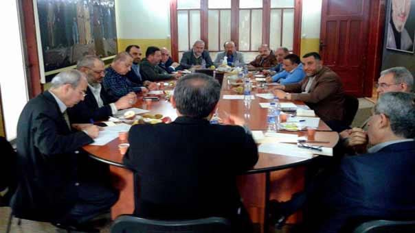 تنسيقية الأحزاب نددت بقرار وزراء الخارجية العرب حول حزب الله وبقرار السعودية طرد أي لبناني
