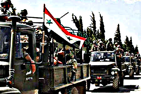 تقدم استراتيجي للجيش السوري غرب تدمر: السيطرة على تلال الـ' 800 ' و'العمدان'و'الثار'