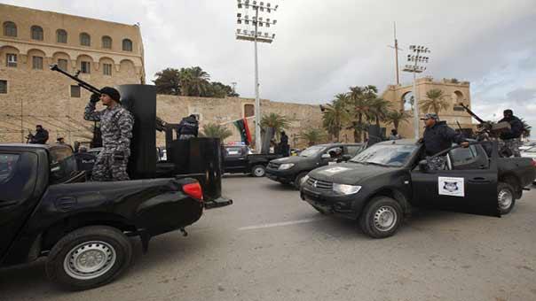 انفجارات في ليبيا