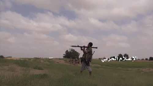 الجيش اليمني واللجان الشعبية يكبدون ميليشيات العدوان السعودي خسائر كبيرة في صحراء ميدي