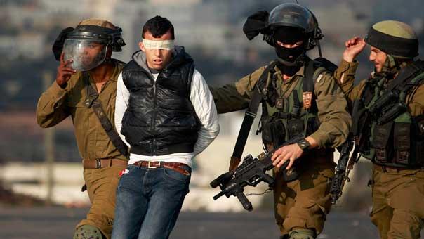 اعتقالات في فلسطين المحتلة
