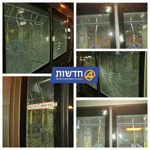 أضرار لحقت بعربات القطار الخفيف في القدس
