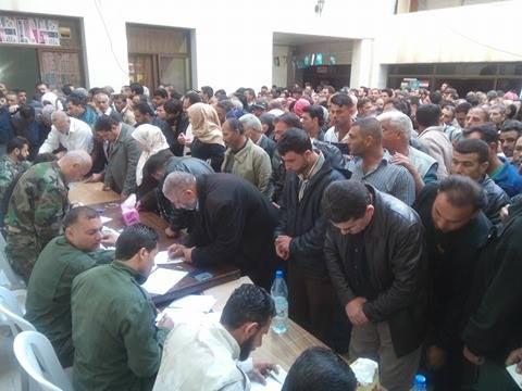 المصالحة الوطنية في إبطع بريف درعا