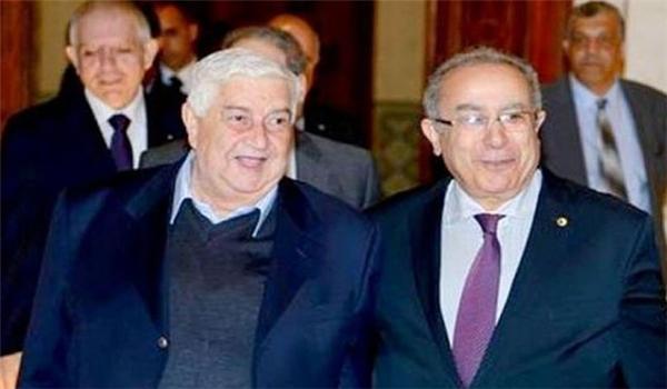 syria-algeria-FMs