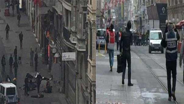 تفجير في اسطنبول