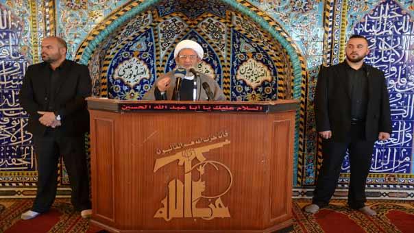 الشيخ يزبك: توصيف المقاومة بالإرهاب هو الإرهاب وكفى