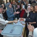 مشاركة واسعة للشعب السوري في الانتخابات البرلمانية + صور