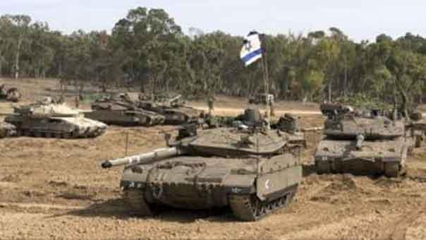 دبابة اسرائيلية