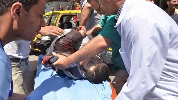 اعتداءات الارهابيين على حلب