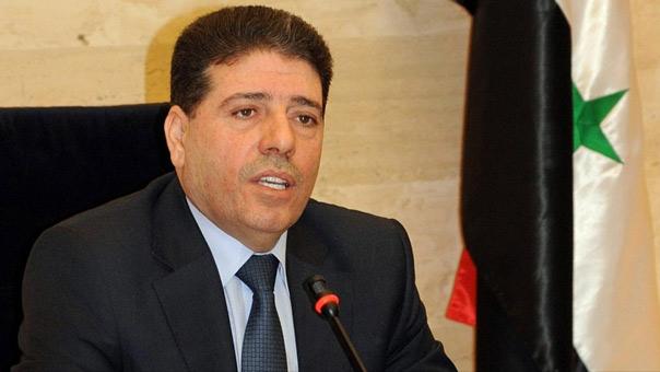 رئيس الحكومة السورية وائل الحلقي