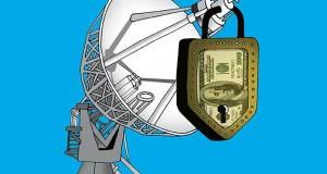 كاريكاتور: مال بني سعود يقفل نايلسات بوجه المنار