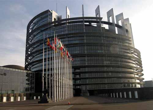مبنى البرلمان الاوروبي