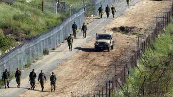 الجيش الاسرائيلي يبدأ بناء أسوار مرتفعة على الحدود مع لبنان