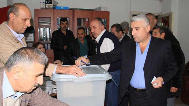 الانتخابات التشريعية السورية