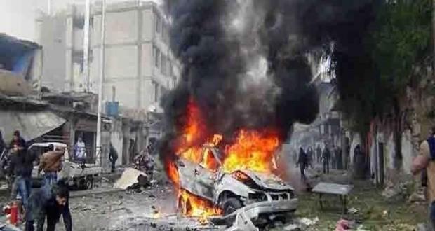 استشهاد عدد من الأشخاص وجرح آخرين في تفجير سيارة مفخخة بحمص