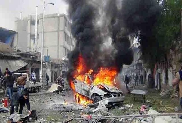 انفجار سيارة في حمص صورة ارشيفية