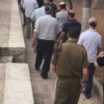 اقتحام للأقصى واعتقالات واخطارات بهدم منازل في مدن الضفة المحتلة
