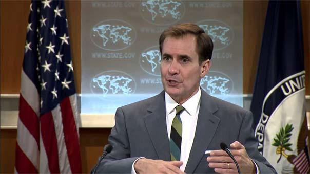 المتحدث باسم الخارجية الأميركية جون كيربي