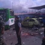 بالصور..ضحايا بتفجيرات تضرب طرطوس وجبلة السوريتين
