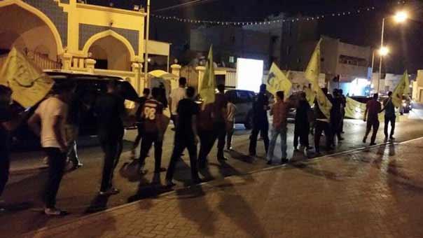 البحرين: تظاهرات سملية تعم البلاد رفضاً للحكم الصادر بحق الشيخ سلمان