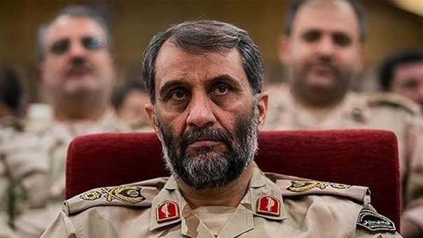 قائد حرس الحدود الايراني العميد قاسم رضائي