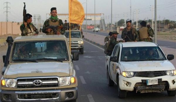 القوات العراقية تحرر الطريق بين عامرية الفلوجة وتقاطع السلام من سيطرة تنظيم داعش