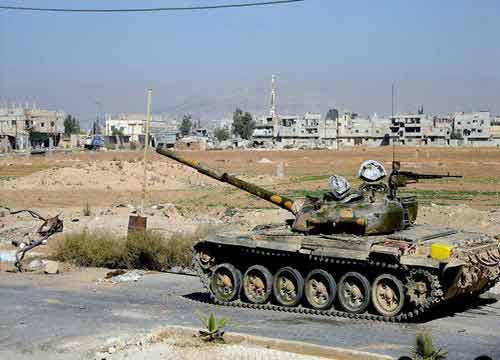 الجيش السوري يسيطر على عين عيسى ومزرعة حسام وعدد من المواقع في ريف اللاذقية