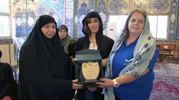 وفد كبير من هيئة المرأة في التيار الوطني الحر يزور الهيئات النسائية في حزب الله بمنطقة البقاع