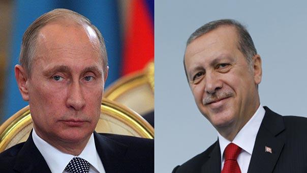 #أردوغان لـ #بوتين: أتمنى عودة علاقاتنا إلى سابق عهدها