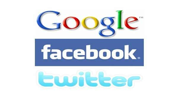 """""""تويتر"""" و""""فيسبوك"""" و""""غوغل"""" في قفص الاتهام"""