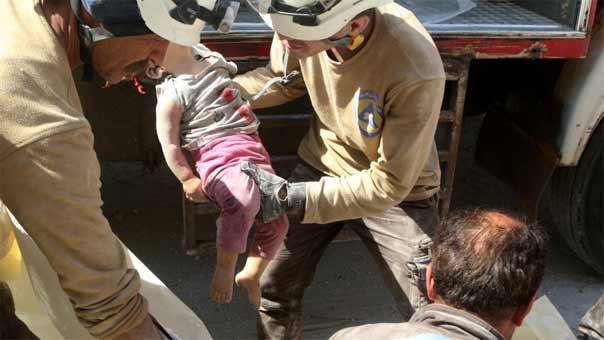 استشهاد طفل سوري في حلب