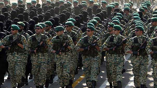 القوة البرية لحرس الثورة الاسلامية