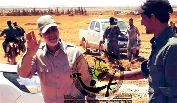 اللواء قاسم سليماني يتوجه الى جبهة سورية جديدة بعد تحرير مدينة الفلوجة العراقية