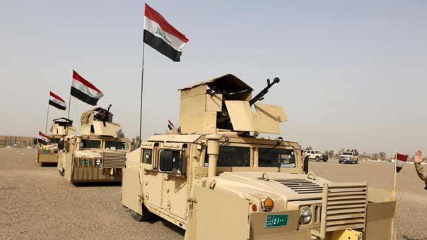 """""""داعش"""" يتقهقر امام الجيش العراقي وقوات الحشد الشعبي"""