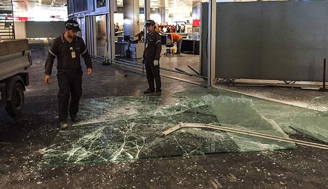 تفجير مطار اتاتورك في اسطنبول فجر امس