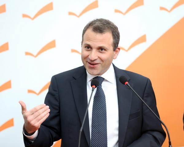 وزير الخارجية جبران باسيل