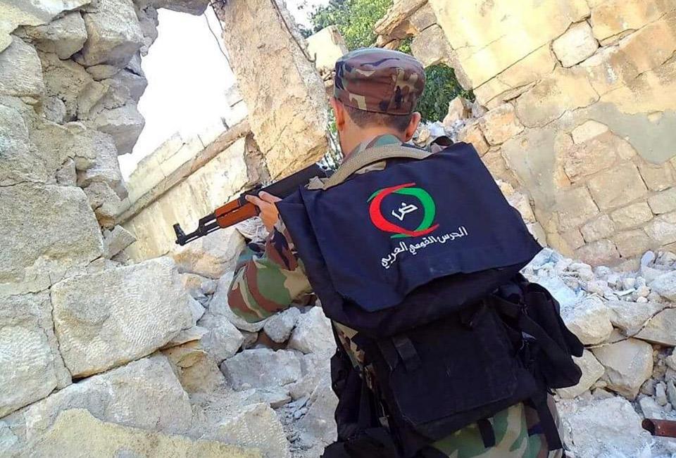 قوات (اتحاد القبائل العربية) في سوريا