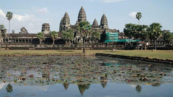 اكتشاف مدن قديمة ضخمة في #كمبوديا