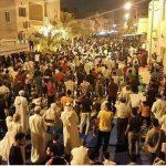 أبناء #البحرين يواصلون اعتصامهم لليلة الثالثة أمام منزل آية الله #عيسى_قاسم