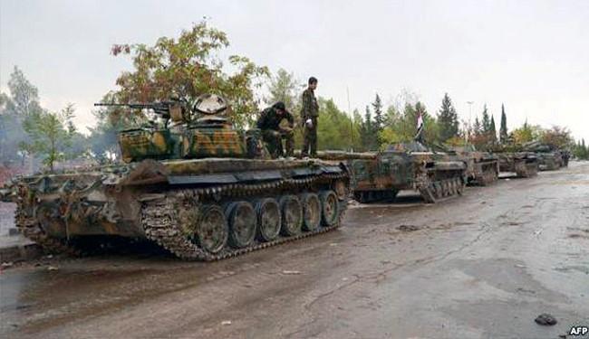 صورة ارشيفية للجيش السوري
