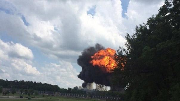 تحطّم طائرتين حربيتين في الولايات المتحدة