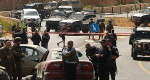 إصابة ضابط إسرائيلي رفيع اثر رشق سيارته بالحجارة قرب رام الله