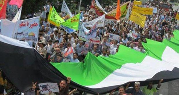 انطلاق مسيرات احياء #يوم_القدس_العالمي في #ايران