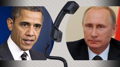 بوتين وأوباما يشيران إلى أهمية استئناف المفاوضات السورية تحت الإشراف الدولي