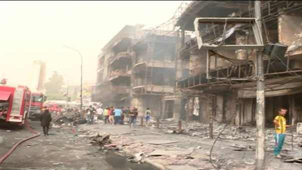 التفجير الاكبر في بغداد