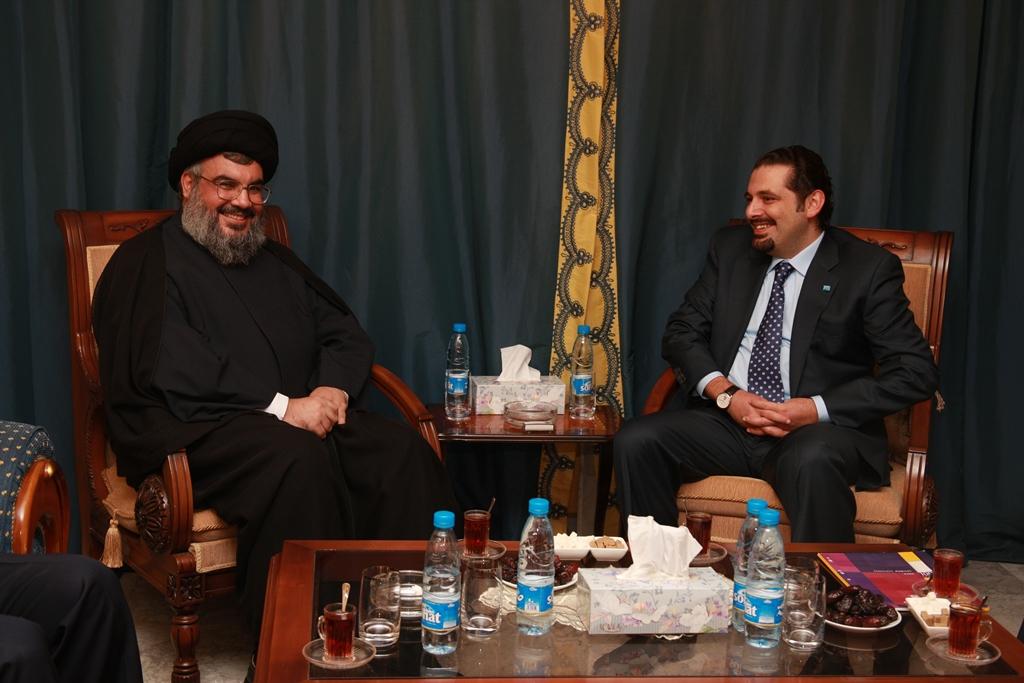 السيد - سعد الحريري 27-10-2008 (1)