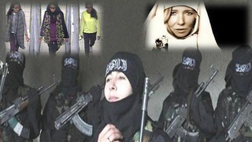 بالصور.. تعرف على فتيات #داعش البريطانيات في #سوريا!